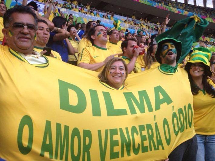 Dilma na copan